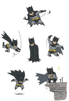 'Little' Bats by darrenrawlings