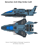 Berserker Strike Craft by The-Electromage