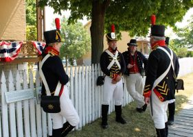Sackets Harbor reenactors by jamberry-song