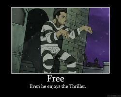 Free likes the thriller by Dark-Taichou