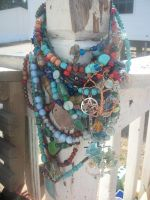 Mass collection of my best necklaces by WyckedDreamsDesigns