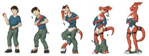 Guilmon TF TG by schmen