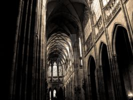 Prague Cathedral by ghito