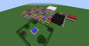 Minecraft town Update~ by FallRiver