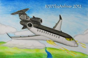 Siddeley Drawing by B737TheAirliner