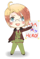 Ask A... No, THE Hero! by kay-kay96