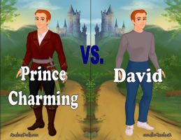 Prince Charming vs. David by Sunshine-Girl524