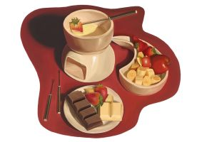 Chocolate Fondue by SabineSusanne