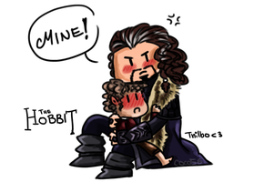 The Hobbit is mine! by coco56