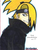Deidara by Northwolf89