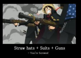 Luffy Demotivational by ObsessiveGirl827