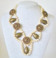 Antiquity Necklace by RetroRevivalBoutique