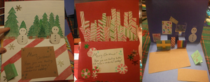 Christmas Cards- Late Post by BaconRainbow