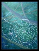 Spiderwebs by Clu-art
