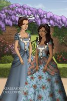 Sarah And Lucy - Tudor Style by AnnieSmith