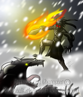 Fire in Cold Warfare by MoonstalkerWerewolf