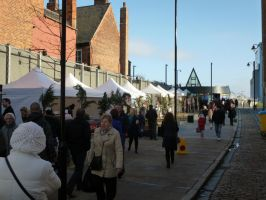 Scale Lane Christmas Market by Cavyman