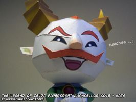 evil papercraft Cole by ninjatoespapercraft