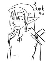 Link sketch thingy by Devil-Kitty