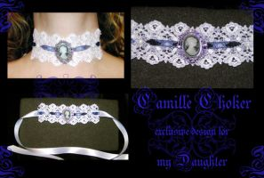 Camille choker by redLillith