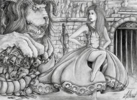 Dance for the manticore by Asthenot