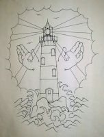 Lighthouse of God by ppunker