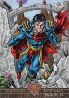 Superman the Legend - Superboy Prime by tonyperna