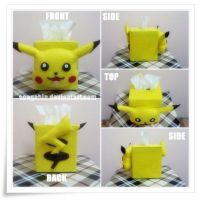 Pikachu Tissue Box... by SongAhIn