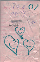 Old Diary Entry (Page One) by AntiqueArtz