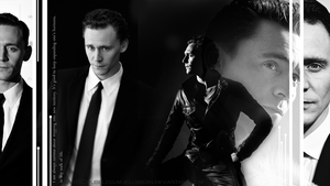 Tom Hiddleston Wallpaper by Bubblegum-Jellybean