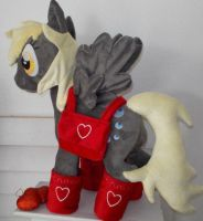 MY LITTLE PONY VALENTINES DAY DERPY by CINNAMON-STITCH