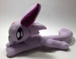 Pokemon - Espeon beanie custom plush by Kitamon