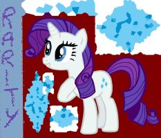 Rarity (My name is fabulous) by jazzy-rose-hxc
