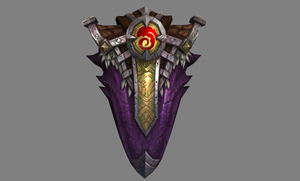 WoW Legion Artifact Icebreaker Shield by PlanK-69