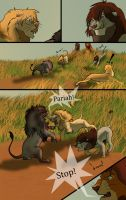 The dark lion page 7 by Mydlasfanart