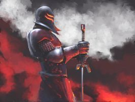 fire knight by gabos