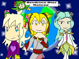 50. Seedrian Star Galaxy: Home Of The Seedrian by FireUnleaser