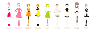 1966 - Nineteen Sixty Chic by Eniotna