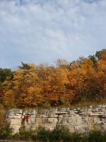 Autumn Cliff Stock Scenery 10 by FantasyStock