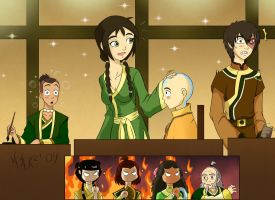 ATLA: A charming visit of... by razamatzu