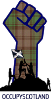 Occupy Scotland facebook by twistedfunk