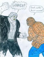 The Thing vs Solomon Grundy by Jose-Ramiro