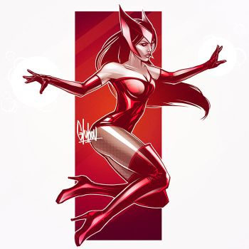 Scarlet Witch by IgorGluhov