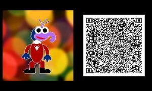 Freakyforms: Gonzo QR Code by nintendolover2010