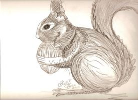 Squirrely Squirrels ...ish by cease-this-fear