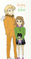 Kenny and Karen by Vera-chan15