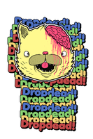 Dropdead cat design by Christophere13