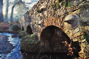 Minnowburn Bridge in Winter by Gerard1972