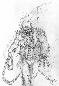 Ghost Rider colour contest by SaintYak