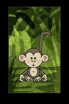 monkey by emmcreations